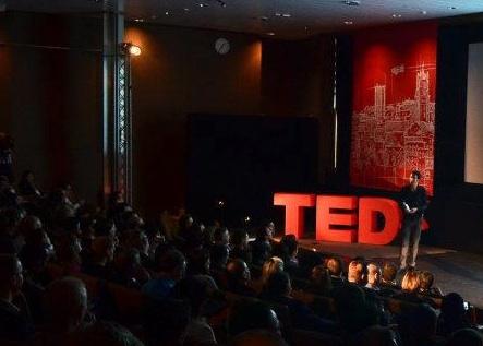 Jonathan Leighton hosting TEDxLausanne